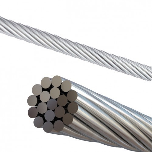 Stainless cable ($ per foot)