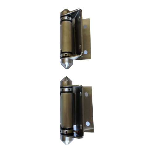Stainless steel spring hinges for pool fence