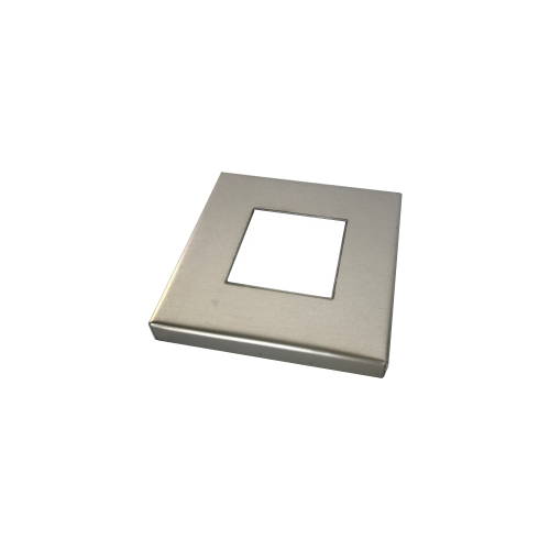 4 inch aluminum base plate cover - 2inch square post