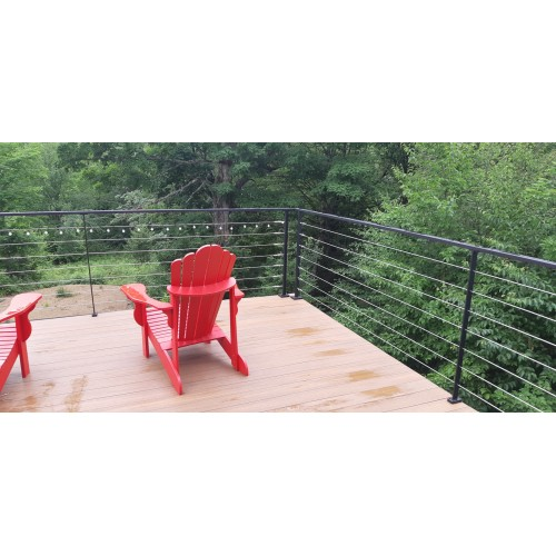 Sailing cable railing system – Metal post