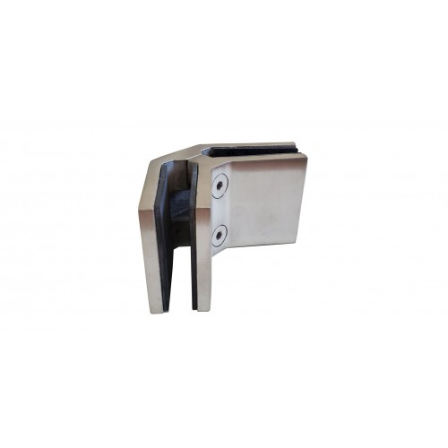 90 degree stainless steel glass connector